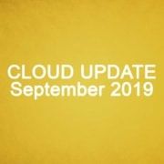 Cloud Update September 2019