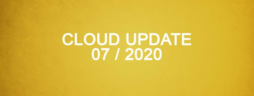 Titelbild Microsoft Cloud Update